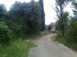 voie partant de Fontfroide(sud ds dos)