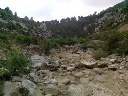 Ruisseau des Mattes,gorges du Congoust