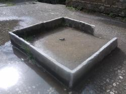 bassin jet d'eau d'atrium/Pb