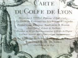carte golfe de Lyon